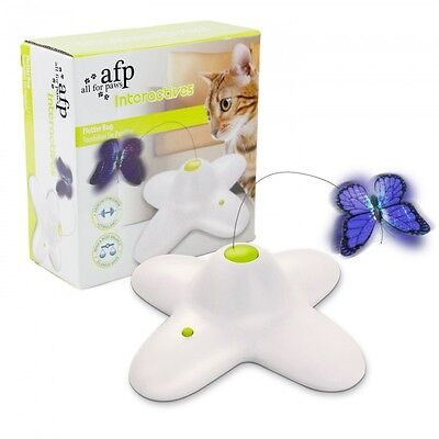 All For Paws AFP Cat Kitten Interactive FLUTTER BUG Toy Game Or Refill