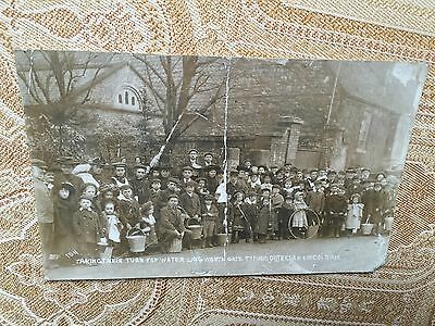 Lincoln Typhoid epidemic, 1905 Langworthgate, RP postcard