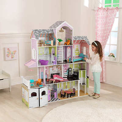 KidKraft Grand Estate Dollhouse Girls toys with furniture
