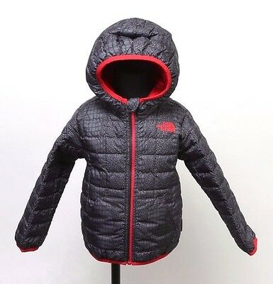 Toddler Boys' The North Face Reversible Thermoball Hoodie Nf0A2Rcjnaa Black/red
