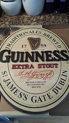 Guinness Extra Stout Wooden Sign