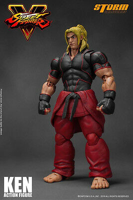 Storm Collectibles Street Fighter V Ken 1/12 Scale Action Figure Preorder