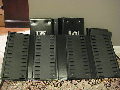 Lot 124 ~ Set of 5 Jewelers Watch Band Strap Display Organizing POS Books