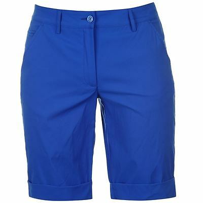 Chervo Golfing Shorts Ladies Blue Size 6 (34)