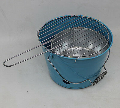 BBQ Grille de pot Barbecue à charbon bois Einweggrill Compact Camping 17
