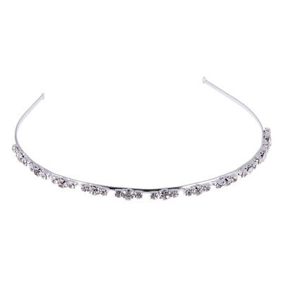 Wedding Bridal Women Pageant Party Tiara Crown Rhinestone Headband Headpiece