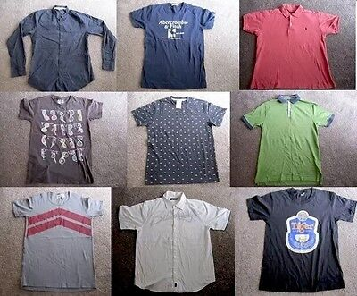 BULK Men's Clothing Size Medium – Nike, Abercrombie & Fitch, Polo, Ben Sherman