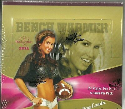 2011 Benchwarmer Limited Factory Sealed Box - 3 Autographs Per Box