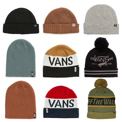 VANS Cappello BEANIE Cuffia CAP Hat KNIT Nuovo UOMO DONNA Invernale VARIE Af
