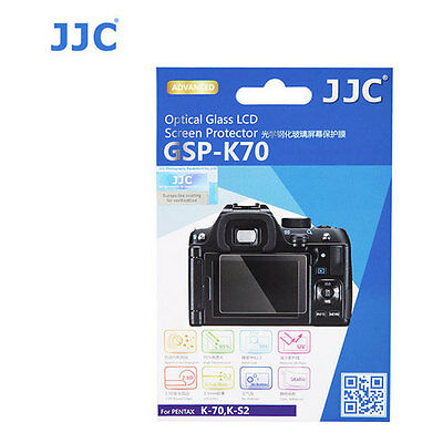 JJC GSP-K70 Optical GLASS LCD Screen Protector Film For Pentax K70 Camera KS2 KS