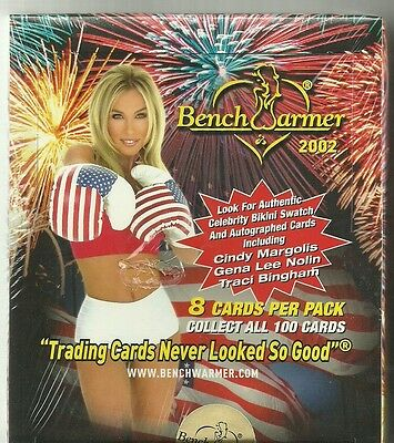 2002 Benchwarmer Series 1 Factory Sealed Box - 2 Autographs Per Box