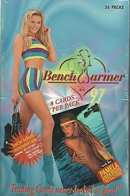 1997 Benchwarmer Factory Sealed Box - 1 Autograph Per Box