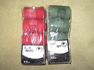GREAT LOT of TWO BRAND NEW Sets of CENTAUR Horse Equine TRACK BANDAGES WRAPS!