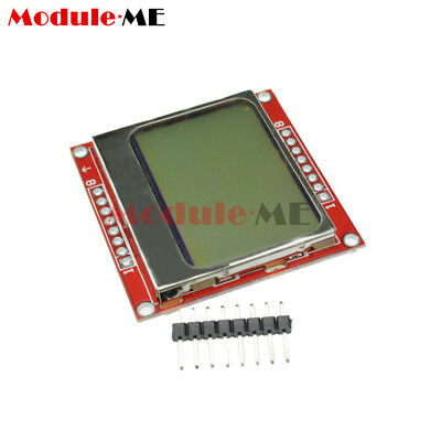 10PCS 84*48 Nokia LCD Module White Backlight Adapter PCB for Nokia 5110 MO