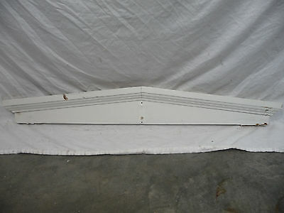 Antique Door Pediment - C. 1880 Fir with Crown Molding Architectural Salvage