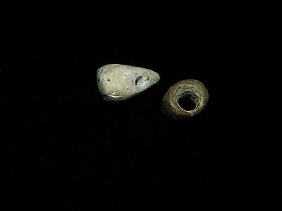 Pre-Columbian Beads,  Authentic, Set of 2