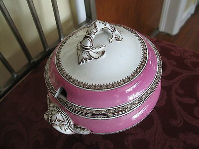 Copeland Late Spode D 1490 Genuine Tureen With Lid & Ladel