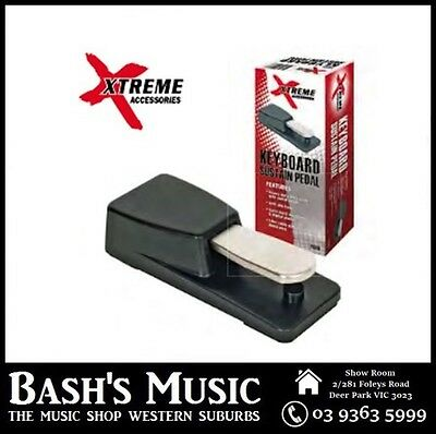 Xtreme FS310 Sustain Damper Pedal Momentary Digial Piano Electronic Keyboards