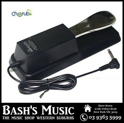Cherub WTB005 Sustain Damper Pedal Polarity Switch to suit all Piano Keyboards