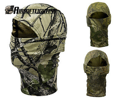 Camouflage Camo Tactical Military Balaclava Motorcycle Ski Full Face Mask