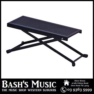 CPK T400 Foot Rest Stool Great For Guitar Players Adjustable Brand New