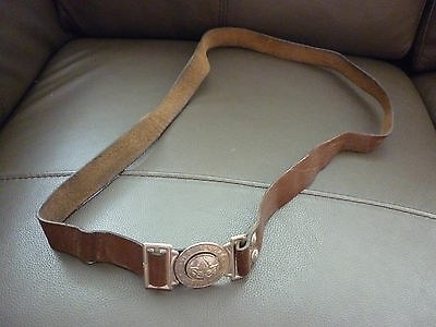 Scout Belt Buckle Ex Yugoslavia Leather