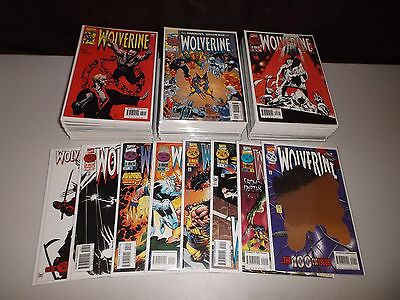 Wolverine #100-189 (Complete end of run) 90 Straight issues Deadpool 154, 155