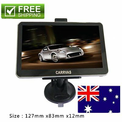 New 5 inch TFT LCD Display TRUCK CAR Navigation GPS Navigator SAT NAV 8GB 560 AU