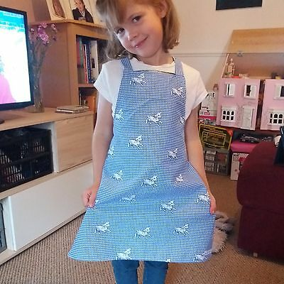 Handmade child/adult apron in a choice of pretty cotton fabrics