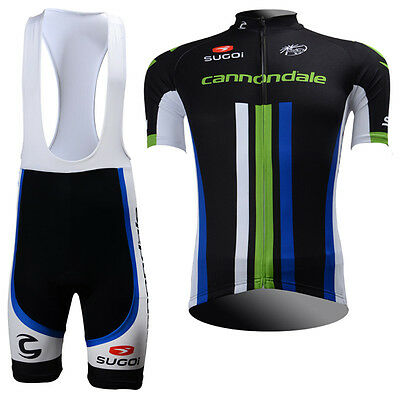 New Men Bike Cycling Clothing Jersey Bib Shorts Outfits Riding Tops Short Sleeve