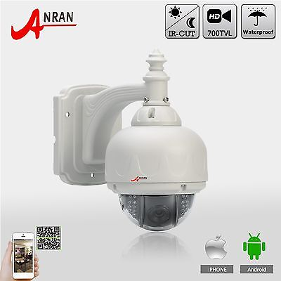 """BNC 700TVL 1/3"""" Sony CCD Security PTZ Dome 5-15mm Outdoor Home CCTV Video Camera"""