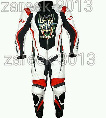 2016 New Motorbike motorcycle leather suit MV AGUSTA 1&2  pieces All  size