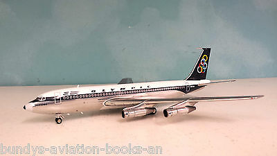 InFlight200 Boeing 720-051B Olympic SX-DBI a metal model in 1/200 scale