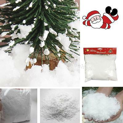 NEW Magic Artificial Snow Powder Simulation Snow Party Prop New Year Funny HOT