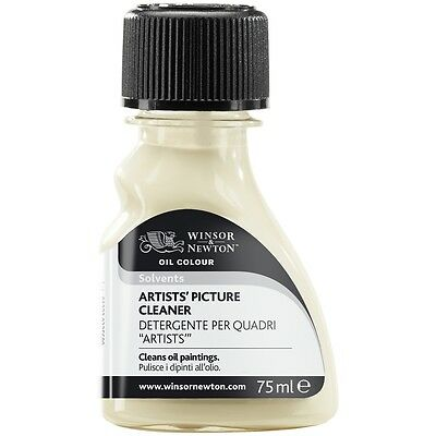 Winsor & Newton Oil Painting Mediums Solvents Artists' Picture Cleaner 75ml