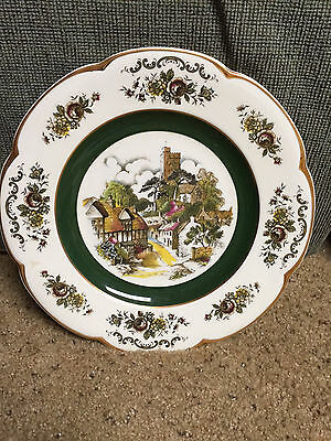 Woods And Sons England Ascot Service Plates Set Of 4  Wall Plates - Beautiful!