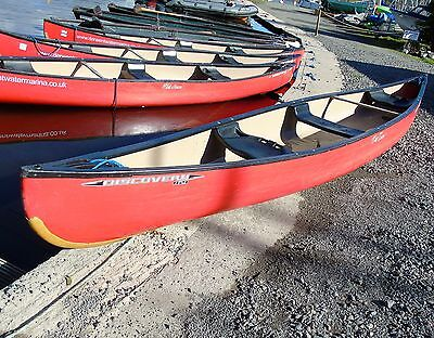 Old Town 169 Discovery Canoe With Bang Plates And Centre Seat
