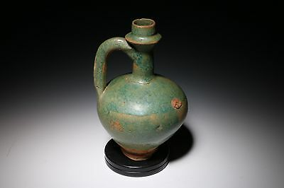 Ancient Islamic Kashan Ewer -  Persian 12Th Century #2