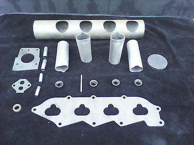 Zetec Kitcar Rwd Inlet Plenum Kit For Kitcar Or Turbo  Weld Up Inc Trumpets