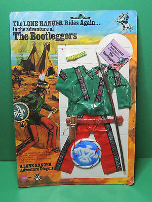 The Lone Ranger BOOTLEGGERS outfit for action figurine doll figure Marx toys 70s