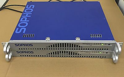 JOB LOT x2 SOPHOS WEB (WS1100) AND EMAIL (ES1100) SECURITY TERMINALS