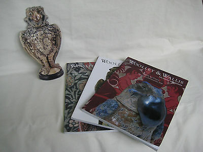 British Art Pottery, Arts & Crafts, Martin Brothers Auction Catalogues