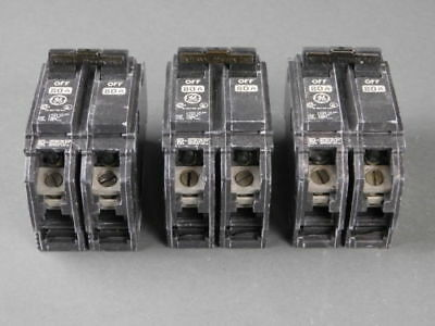 General Electric 2-Pole, 80 Amp, 120/240V Circuit Breakers (Box of 3) THQC80W...