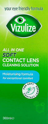 Vizulize All-In-One SOFT Contact Lens Solution 360ml