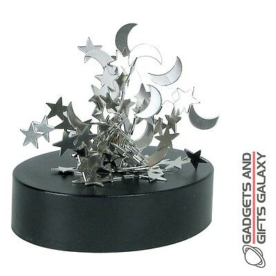 MAGNETIC SCULPTURE STACK RELAXING DESKTOP TOY game gadget adults novelty