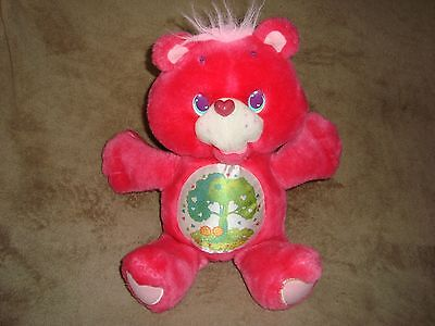 "Care Bears Friend Bear carebear 12"" 1991 Those Characters From Cleveland Plush"
