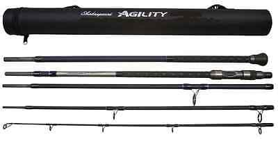Shakespeare Agility EXP 5-Piece Travel Bass Rod 11ft  2-4oz With Travel Tube