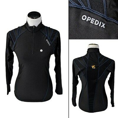 New OPEDIX by ALIGNMED Womens Zip Neck Compression Posture Shirt XS fits 2XS NWT