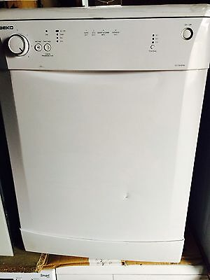 Beko Dl1243Apw 60Cm Freestanding 12 Place Dishwasher In White *