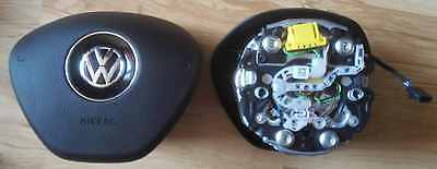 Original Driver Airbag Vw Golf Vii 7 Mk7 With Multifunction Great Condition